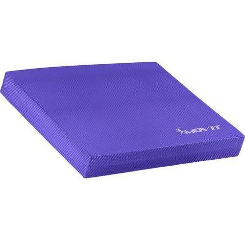 Fioletowa mata platforma podkładka do ćwiczeń równoważnych - fioletowy marki Movit ®