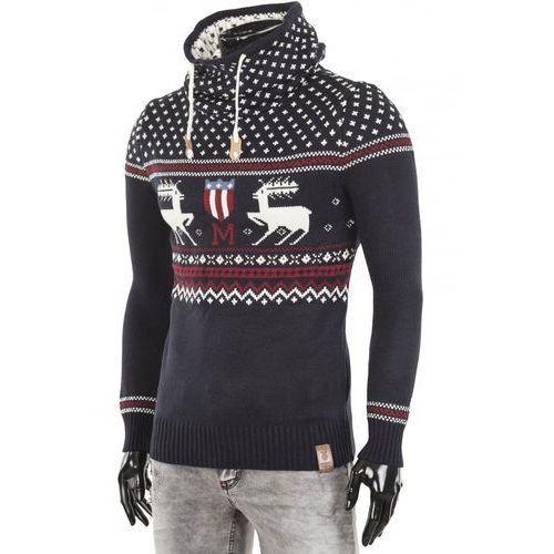 Sweter męski ALEX NAVY