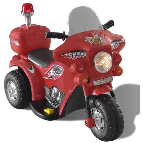 vidaXL Motocykl zasilany na baterię (czerwony) - oferta [a59ce700b1924765]