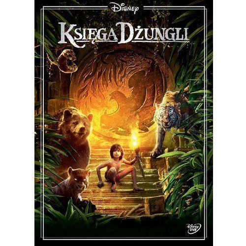 Jon favreau Ksiega dzungli (dvd) uwierz w magię (płyta dvd) (7321918505818)