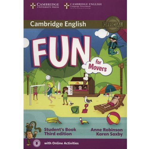 Fun for Movers Student's Book with Audio with Online Activities, oprawa miękka