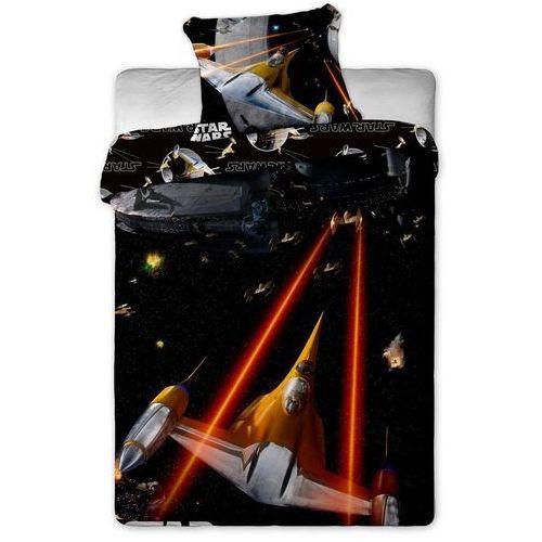 Dziecięca bawełniana pościel Star Wars Spaceship, 140 x 200 cm, 70 x 90 cm, Jerry Fabrics