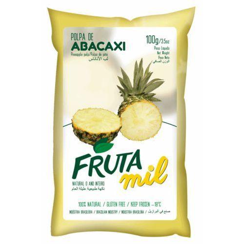 Ananas puree owocowe (miąższ, pulpa, sok z miąższem) bez cukru