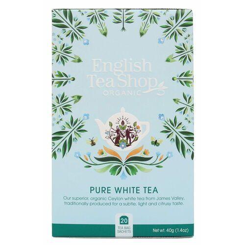 English tea sho Biała herbata 20x2 g bio 40 g p