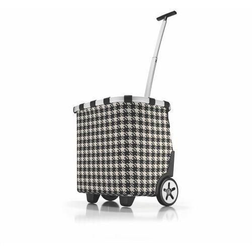 Wózek na zakupy Reisenthel Carrycruiser 40l, fities black (wózek na zakupy)