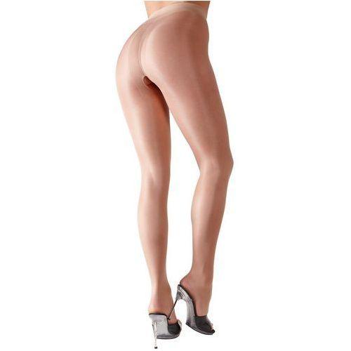 Rajstopy z wycięciem w kroku (2kolory), kolor: czarny, rozmiar: s, Cottelli collection | stockings