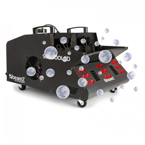 Sb2000led wytwornica mgły/baniek mydlanych 2000 w zbiornik 1,35 l diody led rgb dmx marki Beamz