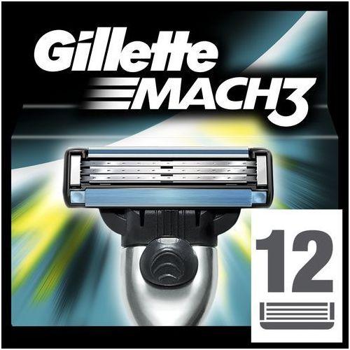 Gillette mach 3 spare blades zapasowe ostrza (cartridges) (3014260323240)
