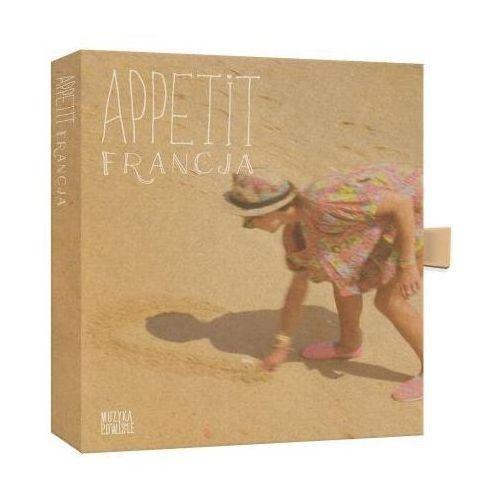 Warner music Appetit francja (cd) + 12 przepisów kulinarnych na fiszkach (5099940985428)