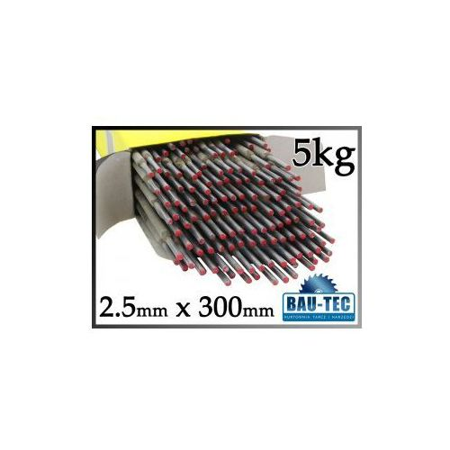 Elektrody spawalnicze różowe 2.5mm x 300mm 2.5kg - produkt z kategorii- akcesoria spawalnicze