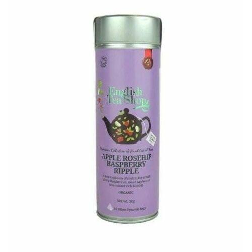 Herbatka owocowa z jabłkiem i różą (15x2) BIO 30 g English Tea Shop
