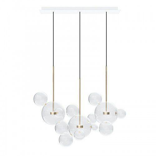 Lampa wisząca CAPRI LINE 3 - LED, szkło, metal