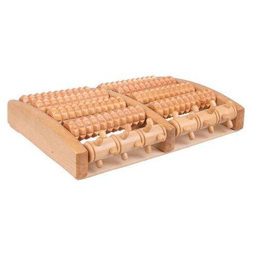 Insportline Drewniany masażer stóp azaika (8596084069054)