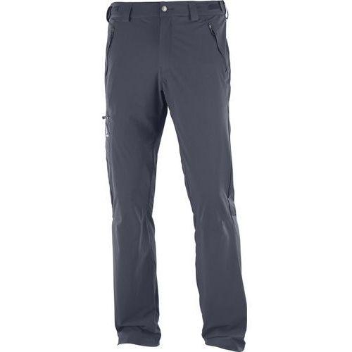 Salomon Wayfarer Spodnie długie Mężczyźni Regular szary 46 2018 Spodnie turystyczne
