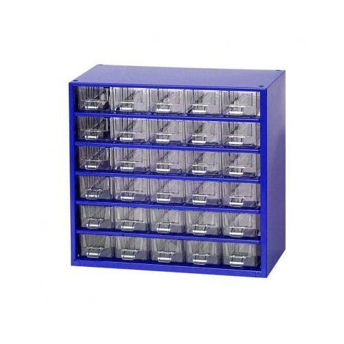 Metalowe szafki z szufladami, 30 szuflad marki Mars