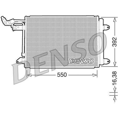 Skraplacz, klimatyzacja dcn32002 marki Denso