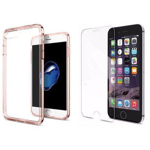 Zestaw   Spigen SGP Ultra Hybrid Rose Crystal   Obudowa + Szkło ochronne Perfect Glass dla modelu Apple iPhone 7 Plus