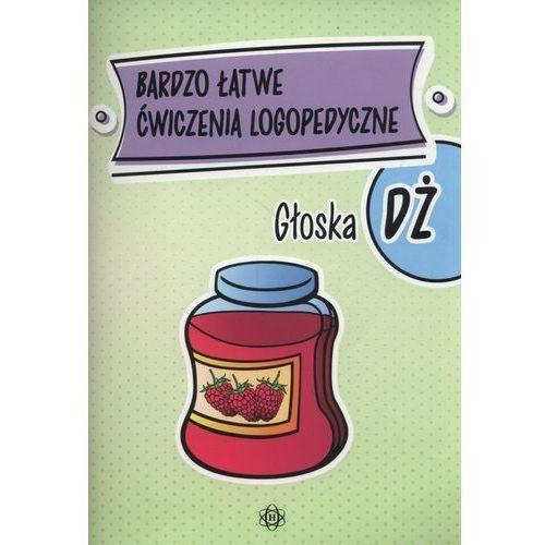 Bardzo łatwe ćwiczenia logopedyczne - głoska DŻ (32 str.)