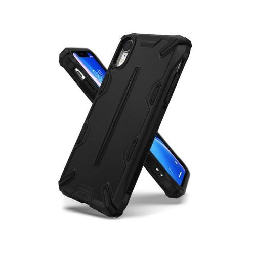 Rearth Etui ringke dual x apple iphone xr sf black - czarny