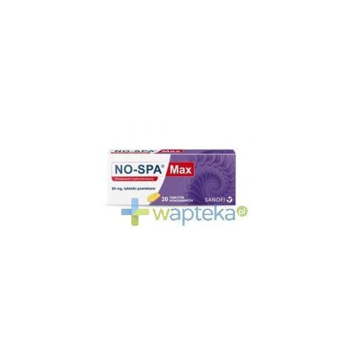 No-Spa Max x 20 tabletek z kategorii Pozostałe zdrowie