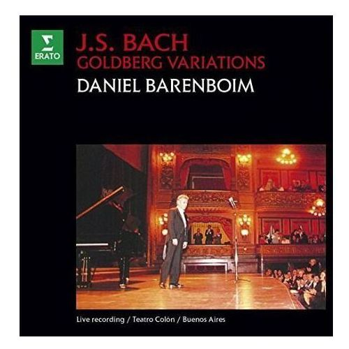 BACH: GOLDBERG VARIATIONS - Daniel Barenboim (Płyta CD) (0825646772599)