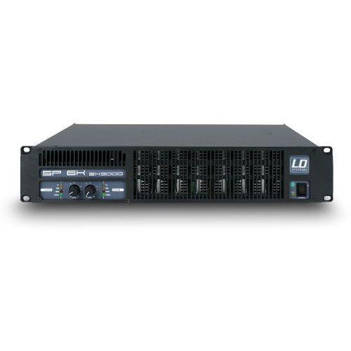 LD Systems SP 6K końcówka mocy PA 2 x 2950 W, 2Ohm