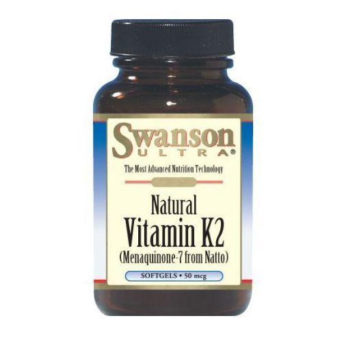 Swanson, usa Swanson witamina k2 naturalna 50ug 30 kaps.