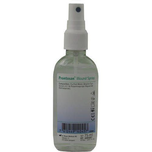 Bbraun prontosan spray roztwór do płukania i oczyszczania rany - 75ml