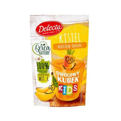 DELECTA 31g Owocowy kubek Kids Kisiel marchew-banan