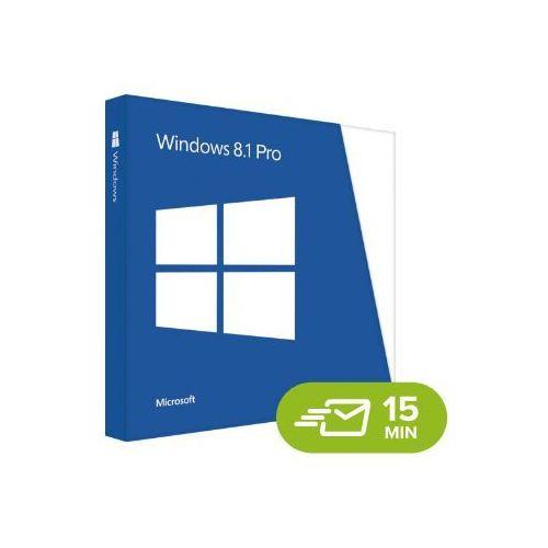 Microsoft Windows 8.1 professional, licencja elektroniczna 32/64 bit