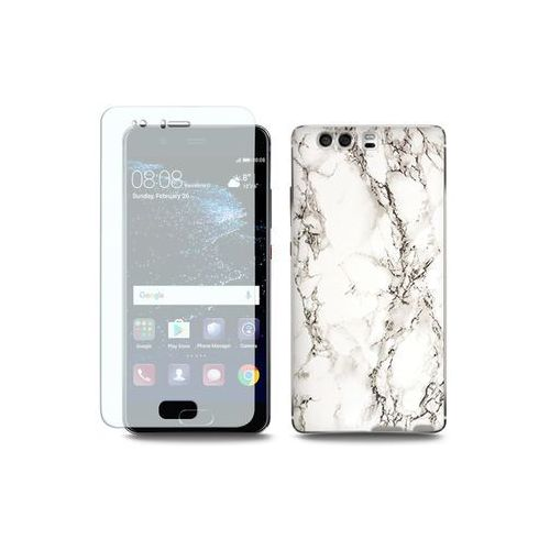 Etuo full body slim fantastic Huawei p10 - etui na telefon full body slim fantastic - biały marmur