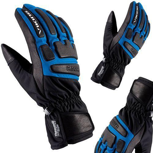 Rękawice narciarskie coach racing czarno-niebieskie 10 marki Viking