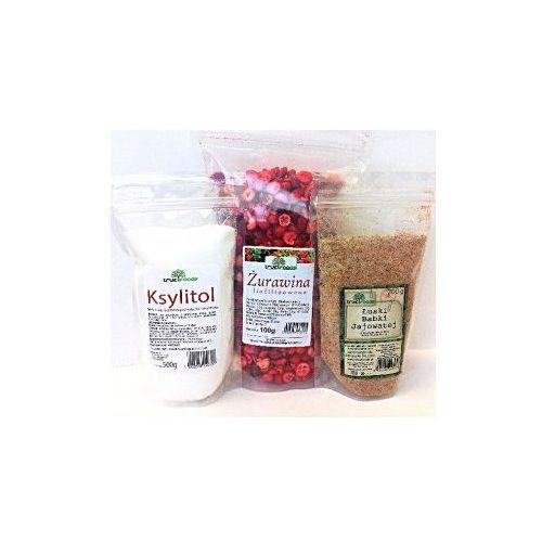 True foods Dieta oxy (żurawina 100g+ksylitol 500g+łuski babki jajowatej 200g)