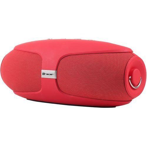 Głośnik mobilny TRACER Warp Bluetooth Czerwony + Zyskaj nawet 500 zł rabatu! + DARMOWY TRANSPORT! (5907512863237)