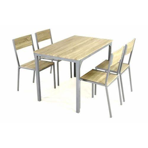 Zestaw jadalny Stół i 4 krzesła