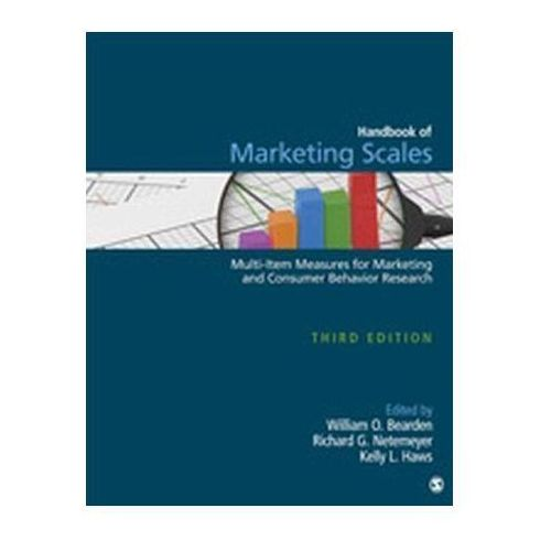 Handbook of Marketing Scales Bearden, William O. (9781412980180)