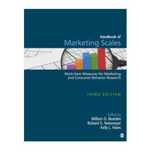 Handbook of Marketing Scales Bearden, William O. (9781412980180)