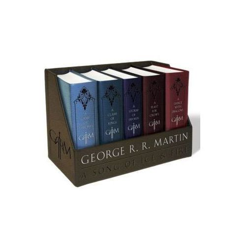 A Game of Thrones Leather-Cloth Boxed Set (9781101965481)