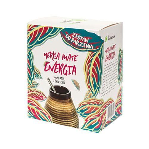 INTENSON 150g Zestaw do parzenia Yerba Mate Energia Guarana i żeń szeń