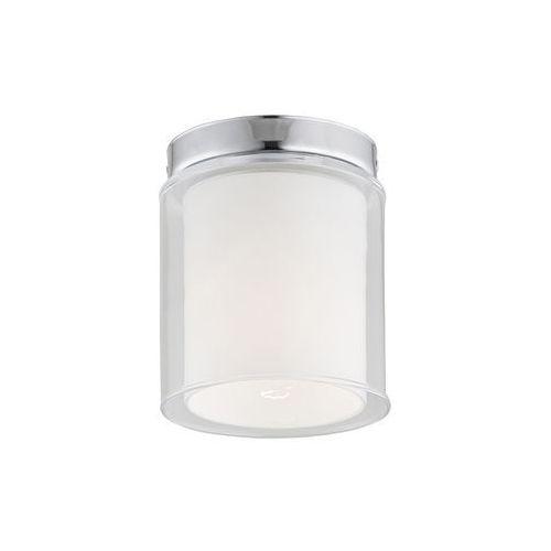 Plafon Argon Ural 3173 1X60W E27 biały/transparentny >>> RABATUJEMY do 20% KAŻDE zamówienie!!!, kolor Biały