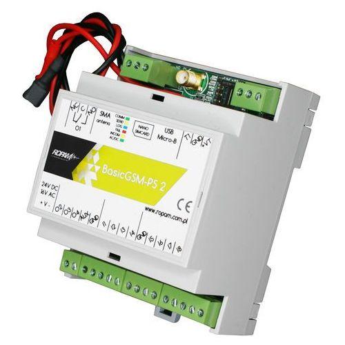 Basicgsm-ps-d4m 2 moduł powiadomienia i sterowania gsm, terminal gsm marki Ropam