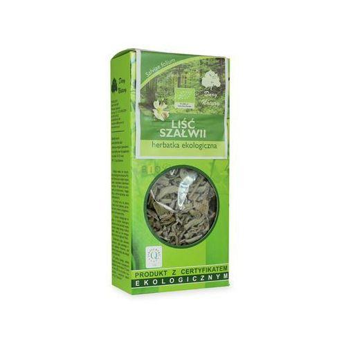 Herbatka liść szałwii bio 25 g - dary natury marki Dary natury - herbatki bio