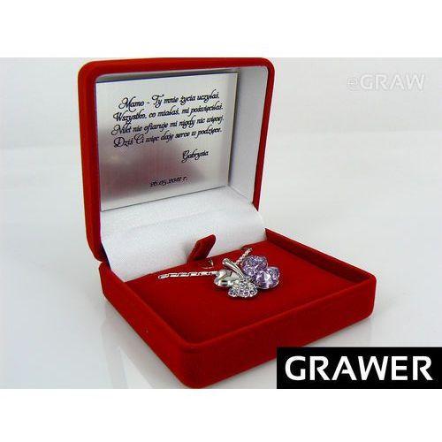 Aleupominek.pl Pudełko etui dedykacja zdjęcie biżuteria grawer