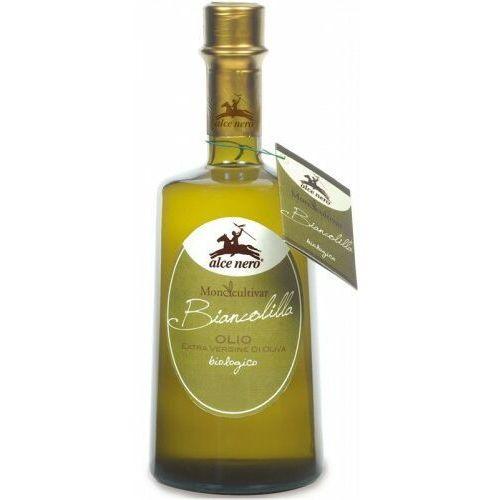 Alce nero (włoskie produkty) Oliwa z oliwek extra virgin biancolilla bio 500 ml - alce nero