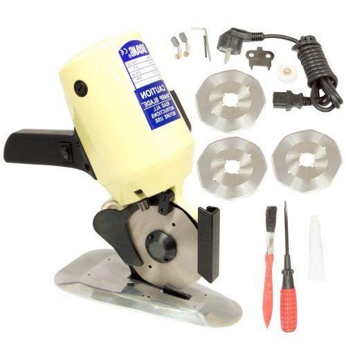 Nóż krawiecki krojczy tarczowy rsd-100 - 100 mm - 300w + gratis! marki Dayang
