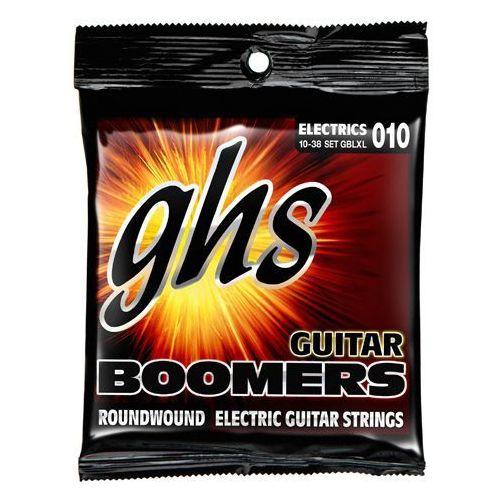 guitar boomers struny do gitary elektrycznej, light extra light,.010-.038 marki Ghs