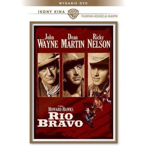 Howard hawks Rio bravo (dvd) - darmowa dostawa kiosk ruchu (7321910110508)