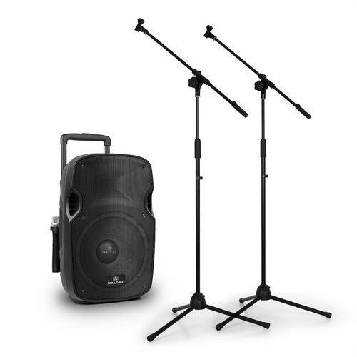 """Malone Przenośne głośniki aktywne pa pw-2912 30cm (12"""") 350w"""