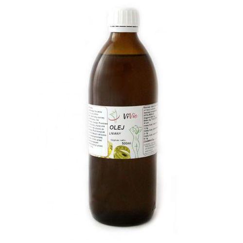 Olej lniany 500 ml, kup u jednego z partnerów