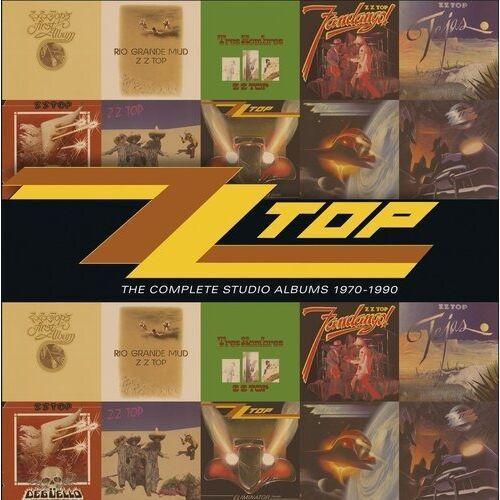 Warner music / rhino Complete studio albums70-90,th - zz top (płyta cd)